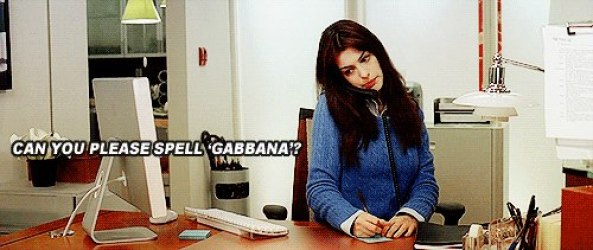 2) Can you please spele Gabbana