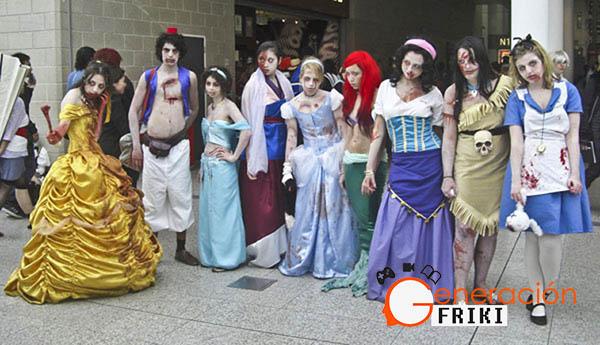 14 Zombies-Princesas-Disney