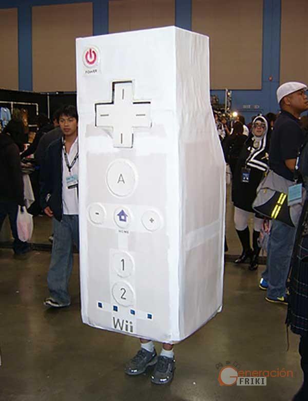 21 Disfraz-Wii