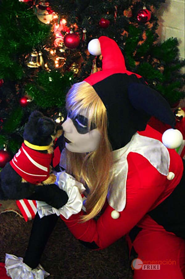 45 Cosplay-Navideño-Harley-Queen