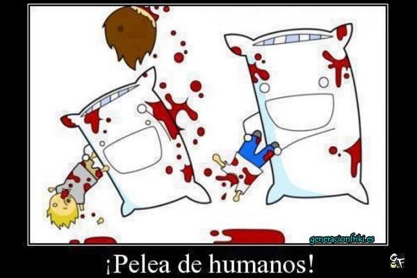209) 05-03-14 pelea-de-humanos-Humor