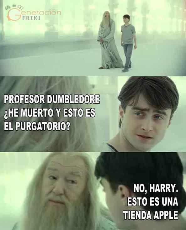 602) 02-09-14 dumbledore-tienda-apple-Humor