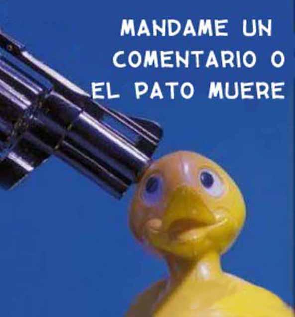 756) 24-11-14 comentario-o-el-pato-muere-Humor