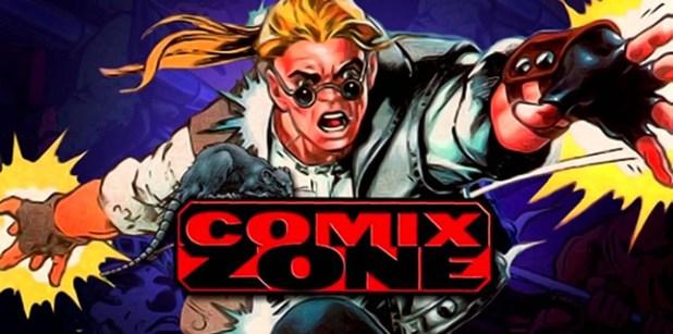 COMIX ZONE-Portada