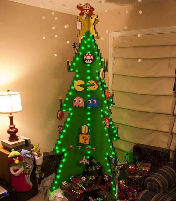8-Arbol-Navidad-Frikis-Juegos-clasicos