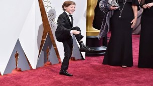 Oscars-2016-Jacob-Tremblany-Calcetines-star-wars