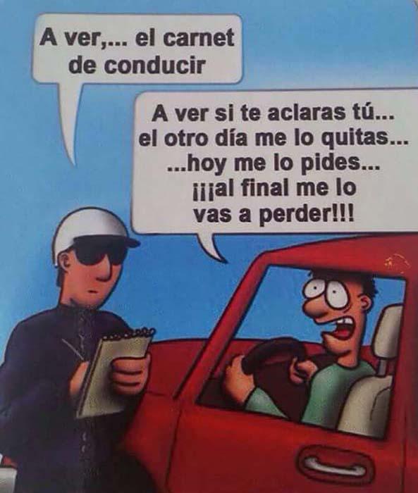 1109) 09-11-15 carnet-conducir-perder-pedir-Humor