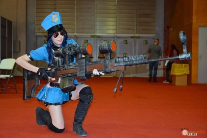 cosplay-madrid-gaming-experience-2016-generacion-friki-caitlyn-oficial-lol-2