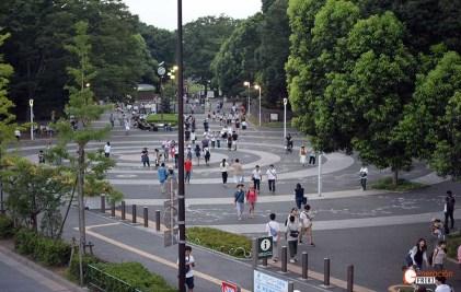 Entrada al Parque Yoyogi
