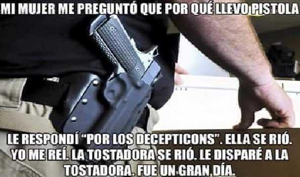 1323) 30-06-16 Pistola-Decepticons-Humor
