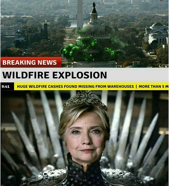 1402) 10-11-16 Trump-Hillary-Juego-de-tronos