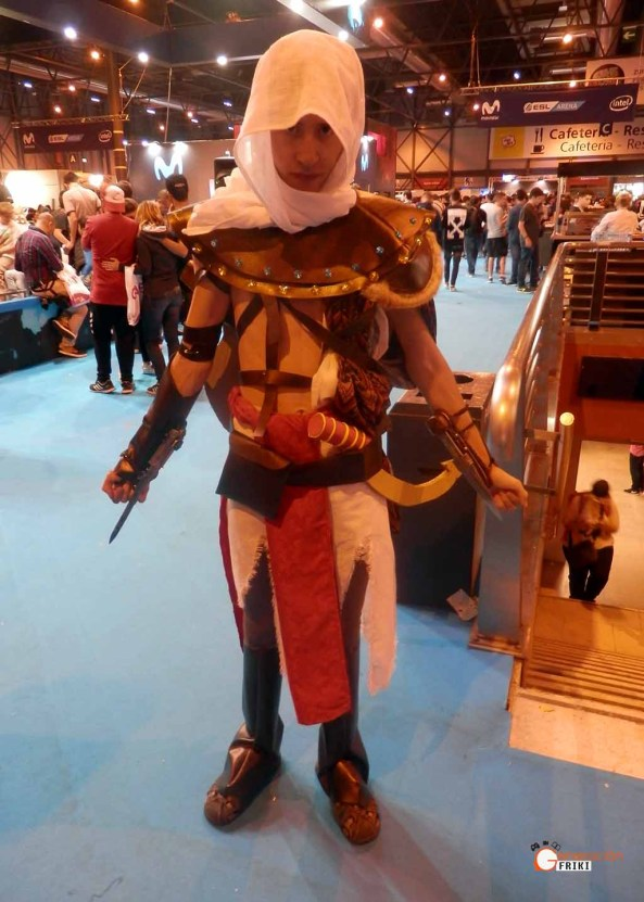 Madrid-Gaming-Experience-2017-Cosplay-Bayek-(AssassinsCreedOrigins)