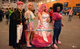 55-Japan-Weekend-Febrero-2018-Lars-Perla-Rose-Garnet-(Steven-Universe)