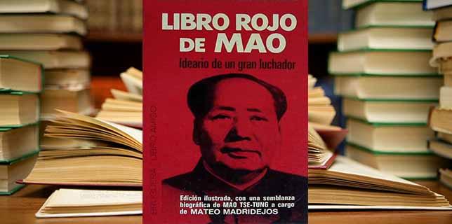 LIBRO ROJO DE MAO: las pequeñas sentencias del comunismo.
