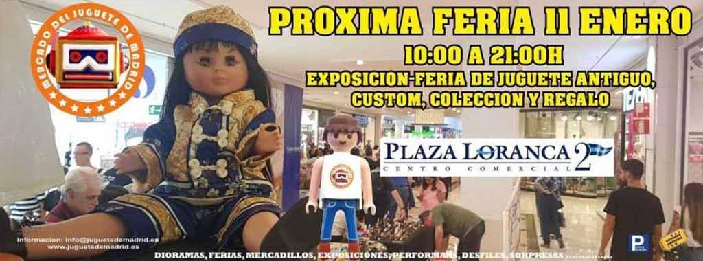 Feria del Juguete (Madrid) @ Centro Comercial Plaza Loranca 2