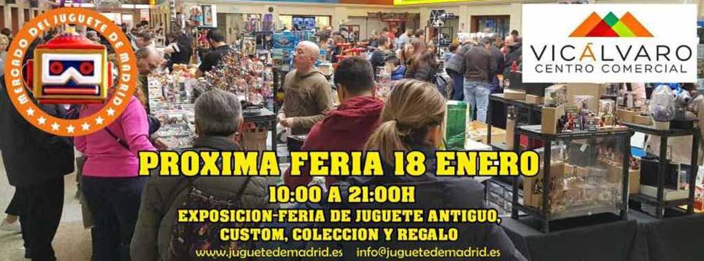 Feria del Juguete (Madrid) @ Centro Comercial Vicálvaro