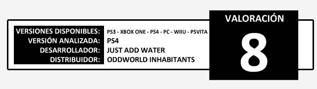 Valoracion Oddworld