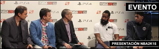 Slider GP 2012 Evento Presentacion NBA2k15
