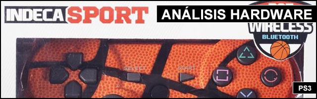 Cabeceras Analisis Hardware Mando PS3 Baloncesto