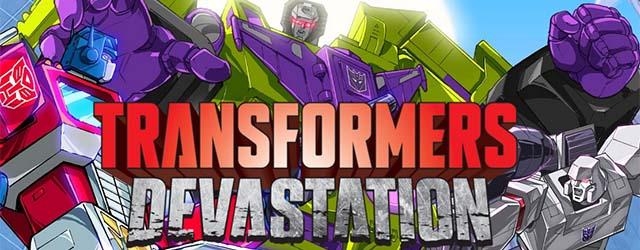 Transformers Devastation cab