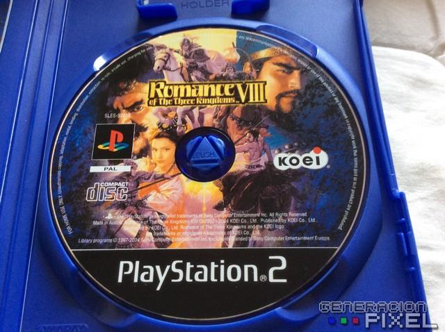 Romance of Three Kingdoms VIII salió en un CD en lugar del DVD