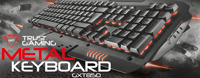 Cab teclado Trust Gxt850