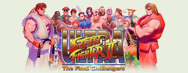 Street Fighter II The Final Challengers cab