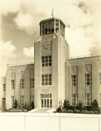 1. Shushan Airport. Terminal Control Tower and Passenger Entrance 1934