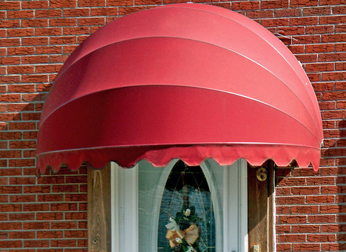 Dome Shaped Door Awnings General Awnings
