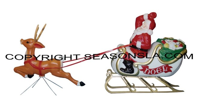 Mold Christmas Decorations Characters General Foam Molded Plastic Outdoor American