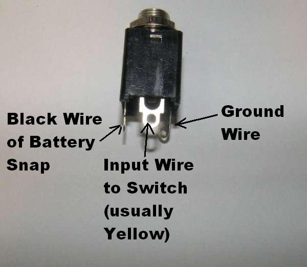 wiring input/output jacks  general guitar gadgets