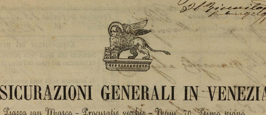 Polizza Mella (1862), particolare del leone / ph. Duccio Zennaro