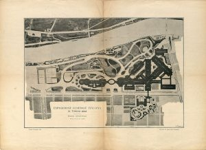General plan of the 1898 Italian General Exposition of Turin [Turin, 1896]