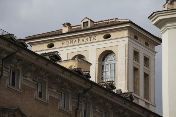 In the heart of Rome: Palazzo Bonaparte