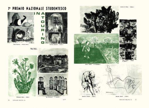 Figura nel periodico aziendale Cronache dell'INA (1964)