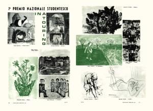 Figura in the house magazine Cronache dell'INA (1964)