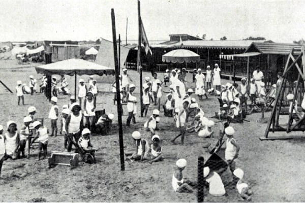 The Summer Holiday Camp of Ca' Corniani in Caorle (Venice, 1933)
