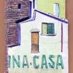 INA Casa ceramic tile (1949-1963)