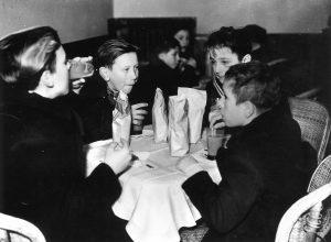 Celebrations of the Fascist Befana in the Palazzo Stratti's Sala Duca d'Aosta (Trieste, 1941)