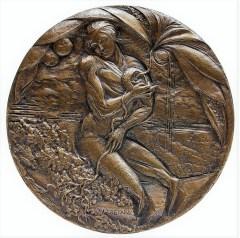 Laura Cretara, 175 years, patina bronze (2006), Generali Group art collection, ph. Massimo Goina
