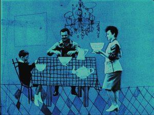 """Fotogramma tratto da """"Una famiglia tranquilla"""" (1963)"""