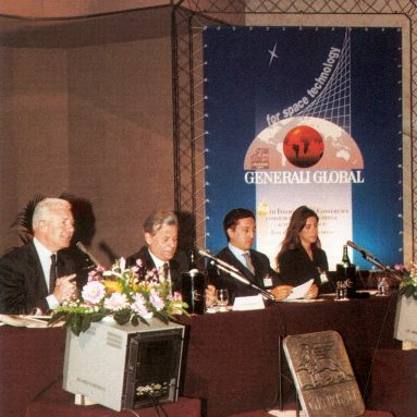 The speech of ANIA Chairman Alfonso Desiata at the 1999 international conference organized by Generali about the commercial and industrial exploitation of outer space (Florence, March 25, 1999)