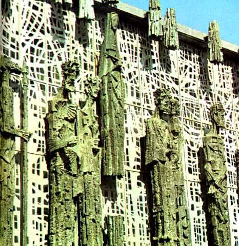 fachada de la virgen del Camino