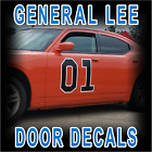Dukes of Hazzard GENERAL LEE 01 Door Decal Decals Sticker Kit