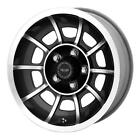 15 American Racing VN47 VECTOR Wheel Black 15x7 5x1143 5x45 0mm VN475765B