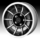 American Racing VN47 Vector Machined Black 15x7 5x45 0mm VN475765B