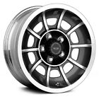 American Racing Vector Wheels 15x85 Anthracite with Machined +6 5x1143