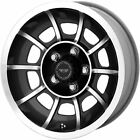 15x85 Anthracite American Racing Vintage Vector SE Wheels 5x45 +6 DODGE