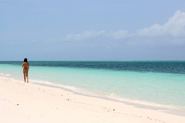 The Bight beach Providenciales