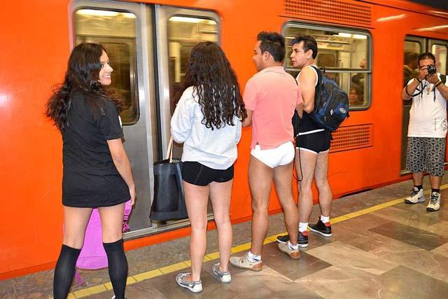 No Trousers Tube Ride No Pants Subway Ride